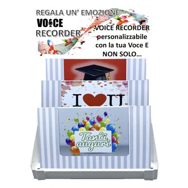 EXPO 12 VOICE RECORDER ASSORTITI COMPOSTO DA: