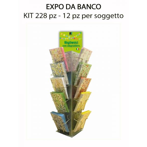 EXPO.DA BANCO 228 PZ.BIGL.AUGURI TAG ART (12X19SOGG)COMPOSTO DA: