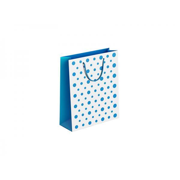 CONF.6 SHOP.18x23x10 POIS AZZURRI M