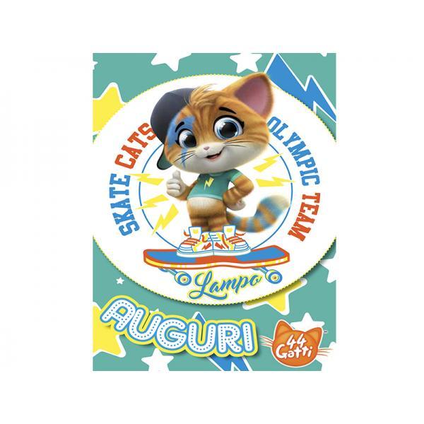 BIGL.AUGURI 44GATTI LAMPO SPORT CATS