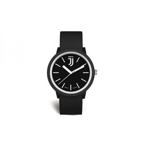 OROLOGIO JUVE D.POLSO CINT.NERO/B
