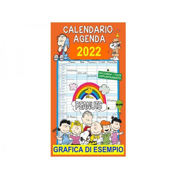 CALEND. AGENDA PEANUTS 2020 CM. 27X45